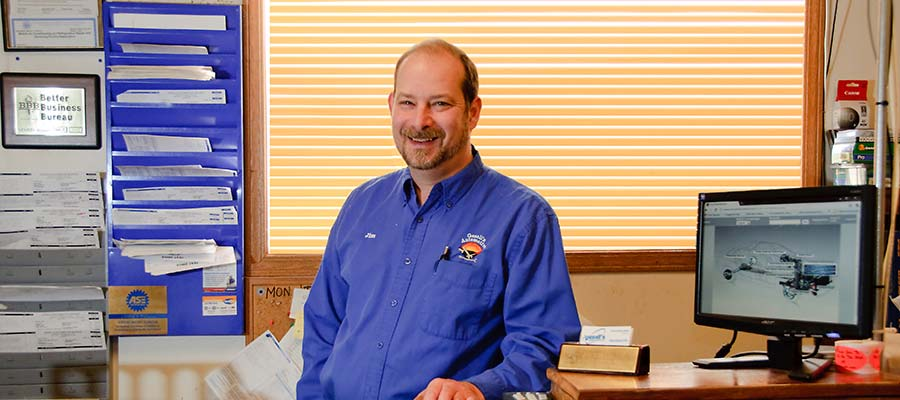 Gesell's Automotive Owner Jim Gesell